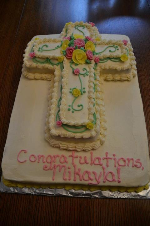 confirmation cake - Peanut, tree nut, dairy and egg free