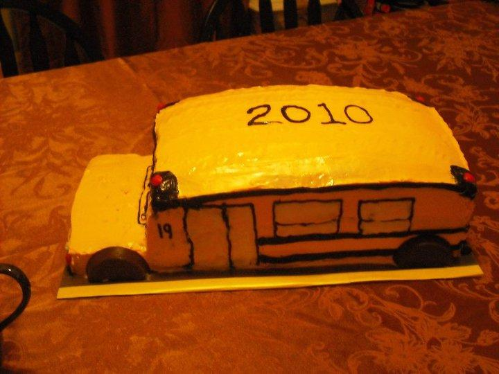 Happy New School Year Cake (Milk, Egg and Peanut Free)