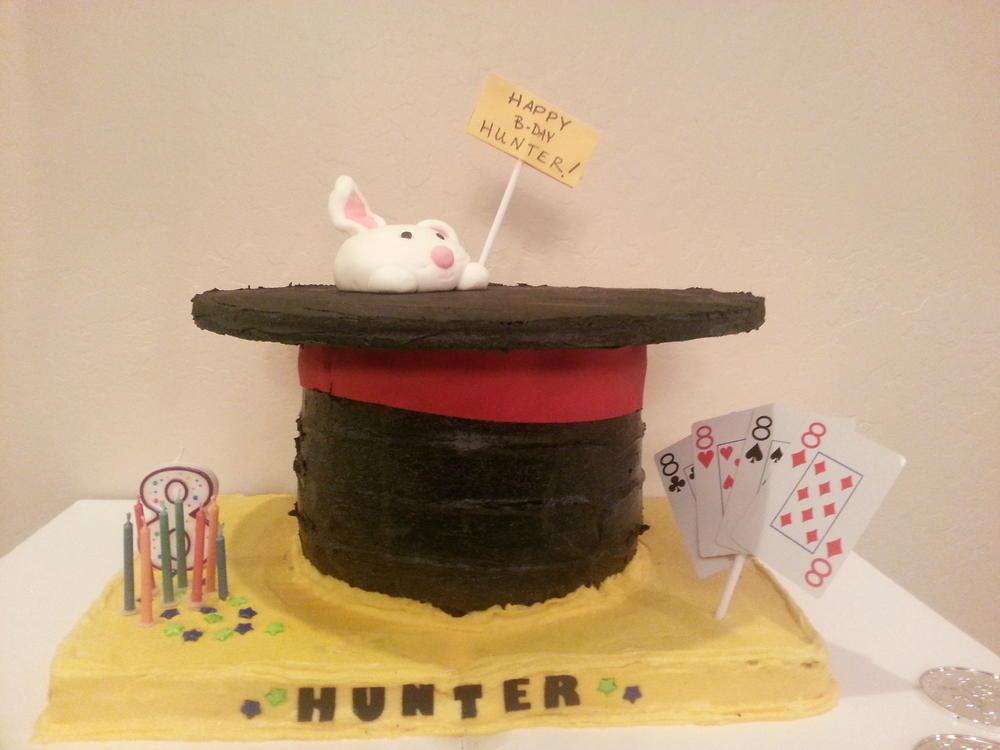 Magic Hat Cake: Dairy-Free, Egg-Free