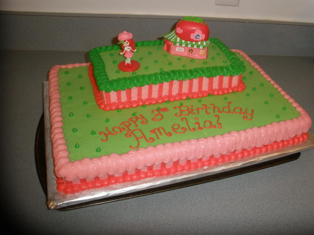 Strawberry Shortcake Birthday Cake Kids With Food Allergies